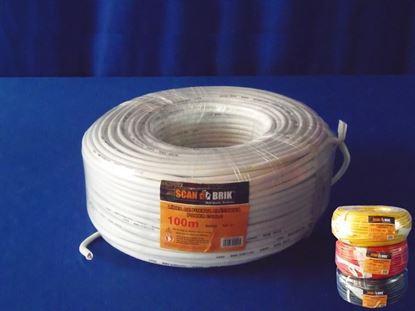 Foto de Cable electricScan 100m 8awg-127v scan 0.3mm*95BlancoSB-594
