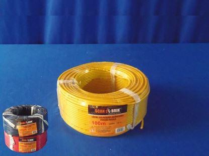 Foto de Cable Electric100m 12AWG-127 Scanbrik Negro 0.32mm