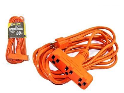 Foto de Extensión naranja 30ft c/regleta Scorpio