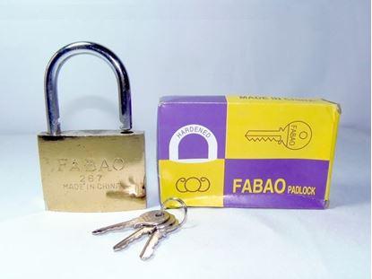 Foto de Candado Fabao 75mm cajita