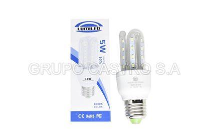 Foto de Bombillo LED 5W Lumiled  50-60HZ