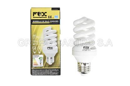 Foto de Bombillo FOX 11W FULL spiral Ecoenergy