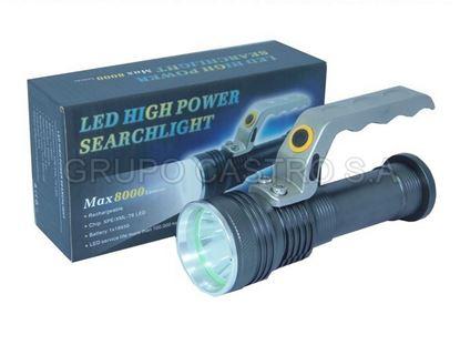 Foto de Foco recargable LED alta potencia 8000