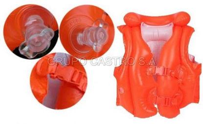 Foto de Flotador inflable chaleco intex 50X47cms