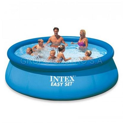 Foto de Piscina intex easy set 244x76cms