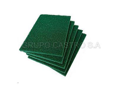 Foto de Set 5 esponjas verdes