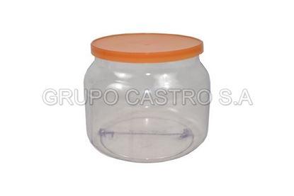 Foto de Envase PVC bomborito c/tapa pita (0.66ml)
