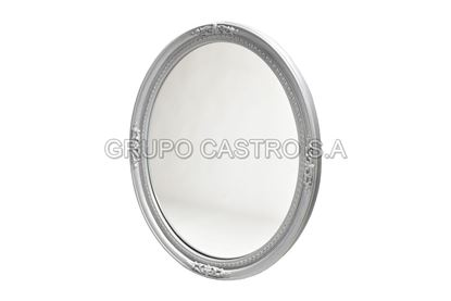 Foto de Espejo ovalado montecarlo rey 78X63cms