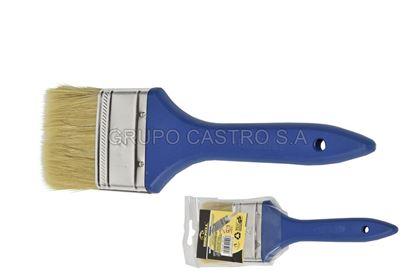 Foto de Brocha 2.5'' Brickell SB-816 pelo amarillo