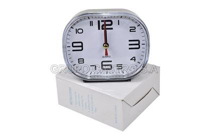 Foto de Reloj despertador ovalado