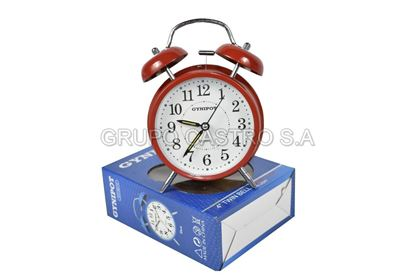 Foto de Reloj despertador campana Gynipot metal