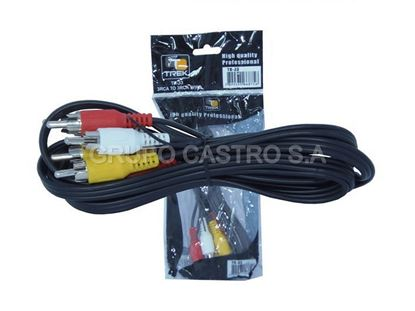 Foto de Cable RCA video audio Trek