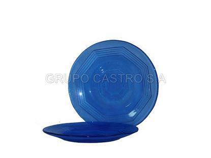 Foto de Plato p/tortilla azul