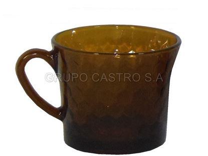 Foto de Taza vidrio cafe coffe  labrada 6 OZ