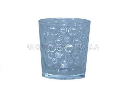 Foto de Vaso burbuja vidrio 14onz