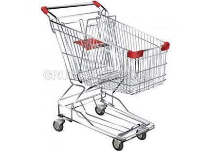 Foto de Carro Supermercado 125ltrs Metal