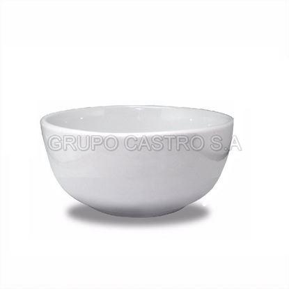 """Foto de Dulcera porcelana pequeña 5"""" blanco"""
