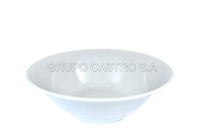 Foto de Tazon porcelana 7' blanca casa bella