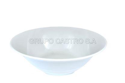 Foto de Tazon porcelana  8' blanca casa bella