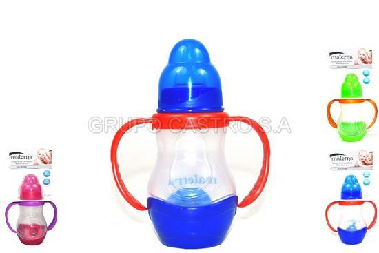 Foto de Chupón 4 onz  materna agarradera BPA