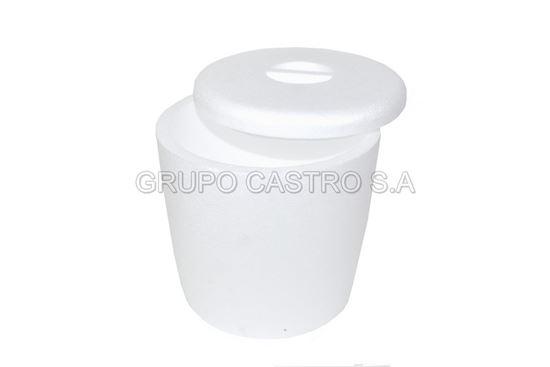 Foto de Hielera redonda de 6 litros  - Estereofón