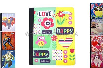 Foto de Cuaderno 48 hojas 14.5 x20.5cm
