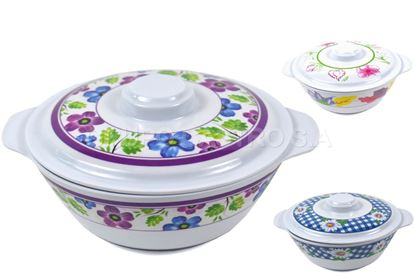 "Foto de Tazon bowl 7"" melamine c/tapa"