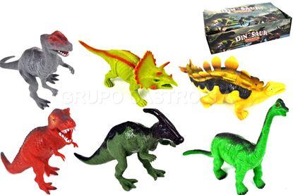 Foto de Dinosaurio con sonido caja 6 unidades