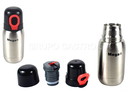 Foto de Thermo Cafe Mega  Acero Inox c/flip top 0.25ltrs