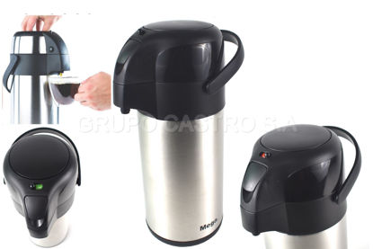 Foto de Thermo 3.0 acero Mega café bomba push