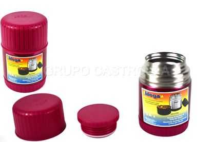 Foto de Thermo comida acero Mega 0.50ltrs color boca ancha