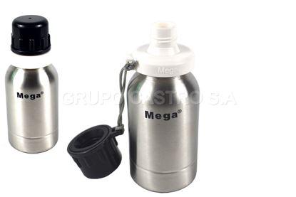 Foto de Botella 0.5ltrs acero Mega liquidos