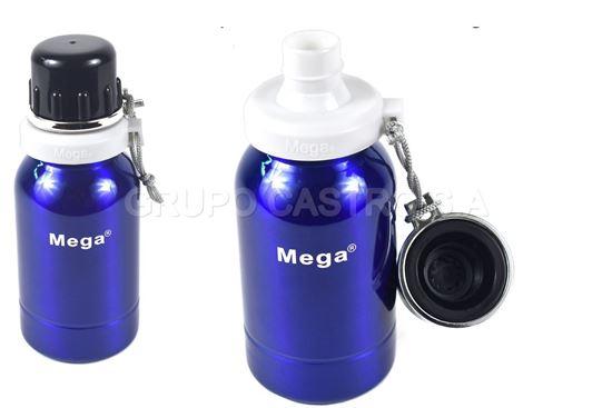 Foto de Botella 0.5 acero liquidos mega