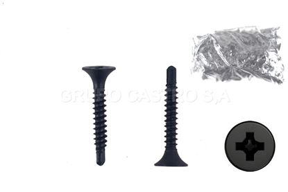 "Foto de Tornillo (100pcs)Phillips p/Perling 1""puntabroca"