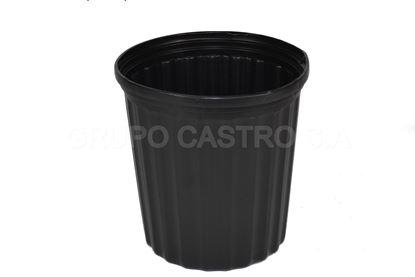 Foto de Maceta negra #6 salvaplastic
