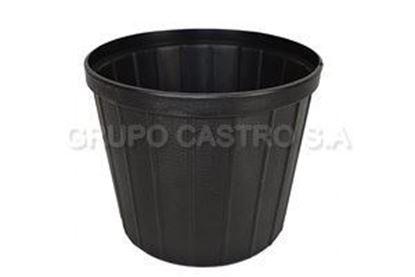 Foto de Maceta negra  #7 salvaplastic
