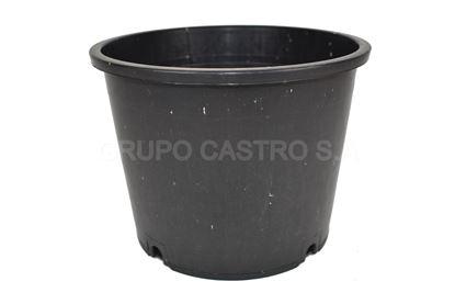 Foto de Maceta negra  #8 salvaplastic