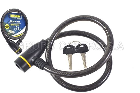 Foto de Candado bicycle lock 12x800mm kennedy