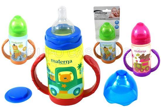 Foto de Chupon 8onz  250ml materna  agarradera BPA