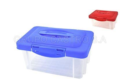 Foto de Practi-caja mediana 5ltrs c/t plástico