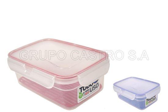 Foto de Hermético lock 1.1litros tacoplast plástico