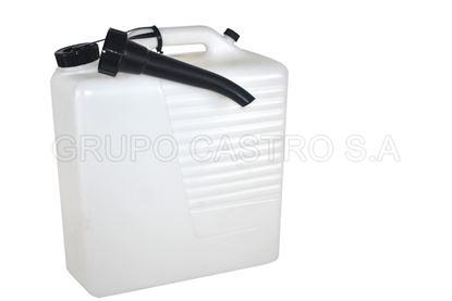 Foto de Pichinga rectangular 8 galones/30 litros manaplast