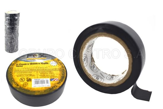 Foto de Tape negro15yardas 0.13mmx18mm fox  electrico