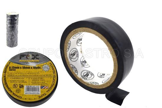 Foto de Tape negro10yardas 0.13mmx18mm fox skp-1070 electrico