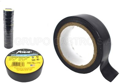 Foto de Tape negro xtreme10yardas 0.13mmx18mm XT-F014