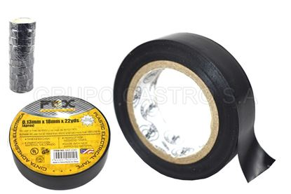 Foto de Tape negro22yardas 0.13mmx18mm fox  electrico