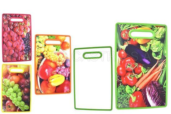 Foto de Tabla picar plastica frutas