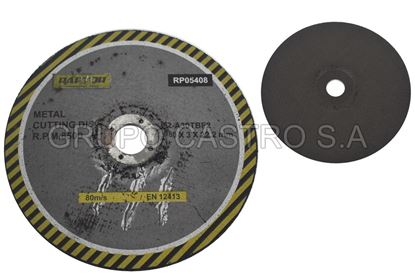 "Foto de Disco metal corte grueso7"" raptor 180x3x22.2mm"