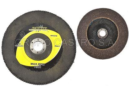 "Foto de Disco lija 7"" 4.5""raptor(180x22) 7500rpm (p60)"