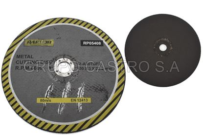 "Foto de Disco metal corte grueso 9"" 8 raptor 230x3x22.2mm"